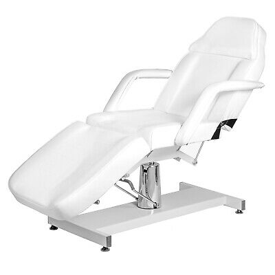 White Electric Beauty Chair New Therapy Table Spa Relax Bed Massage Couch Tattoo