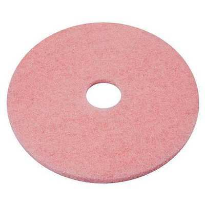 TOUGH GUY 6YMU4 Burnishing Pad, 27 In, Pink, PK 5