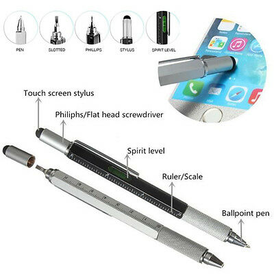 6 In 1 Universal Touch Screen Stylus Pen Screwdriver Ruler For Tablet Phone