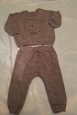 tu baby boys 3-6months top and bottom set worn once