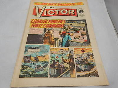 THE VICTOR COMIC No 370 ~ Mar 23rd 1968 ~ Charlie Fowler's First Command