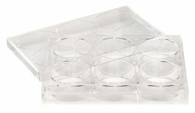 LAB SAFETY SUPPLY 11L794 12 Well Tissue Culture Plate w/Lid, PK50