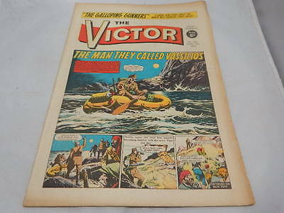 THE VICTOR COMIC No 382 ~ June 15th 1968 ~ The Man They Called Vassilios