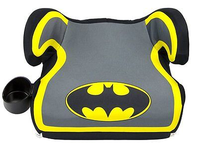 Kids Fun Road Safety Comfortable Batman Best Backless Booster Car Seat