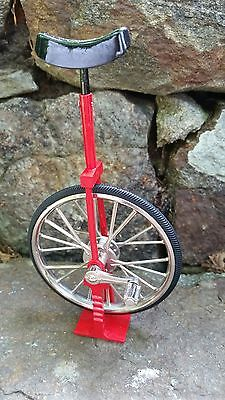 Miniature RED Unicycle 1/10 Scale NEW In BOX