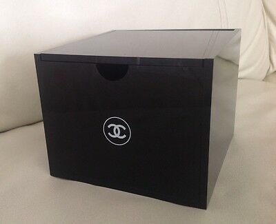 Chanel Cotton Buds / Pads Organiser Box