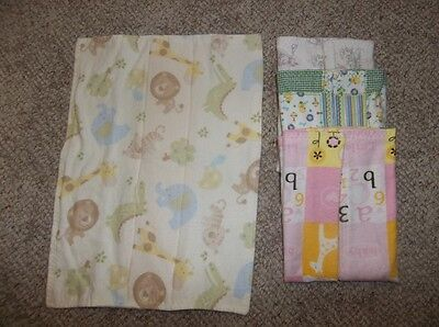 4 Size 6 – 24 Months New Homesewn Tri-Fold Cloth Diapers – Lot 1