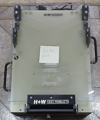 PCB Test Fixture Jig Box 008, H+W, Bed of Nails probe fixture
