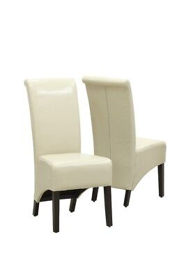 """Monarch I 1777TP Dining Chair - 2Pcs / 40""""H / Taupe Leather-Look"""