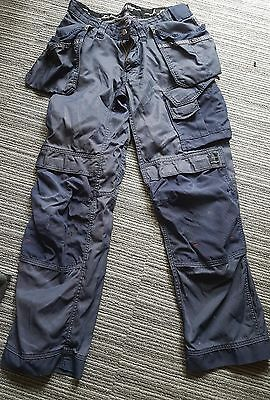 snickers work trousers w31 l32 blue