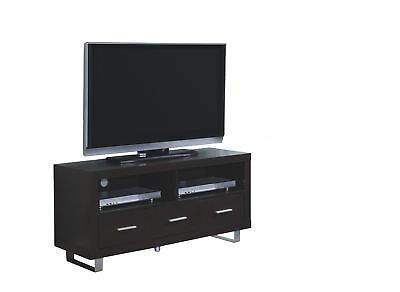 """Monarch I 2503 Tv Stand - 48""""L / Cappuccino With 3 Drawers"""