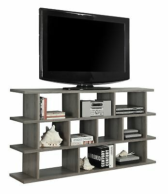 "Monarch I 2598 Bookcase - 60"" / Dark Taupe Horizontal - Vertical Etagere"