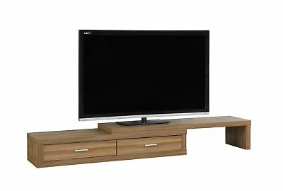 """Monarch I 2681 Tv Stand - 60""""L To 98""""L / Expandable / Walnut"""