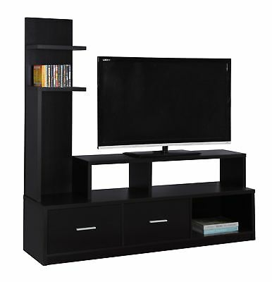 """Monarch I 2695 Tv Stand - 60""""L / Cappuccino With A Display Tower"""