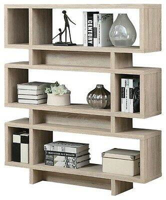 "Monarch I 3201 Bookcase - 55""H / Natural Modern Style"