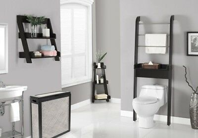 "Monarch I 3436 Bathroom Accent - 24""H / Cappuccino Wall Mount Shelf"