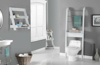 "Monarch I 3439 Bathroom Accent - 24""H / White Wall Mount Shelf"