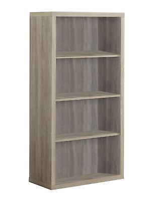 "Monarch I 7061 Bookcase - 48""H / Natural With Adjustable Shelves"