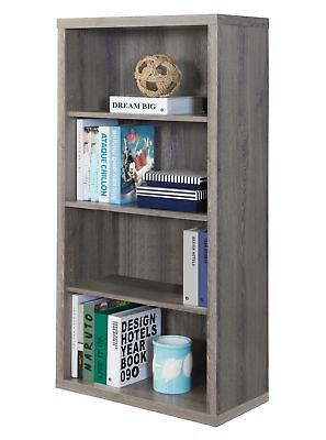 "Monarch I 7060 Bookcase - 48""H / Dark Taupe With Adjustable Shelves"