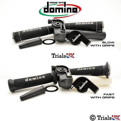 Domino Trials Throttle With High Quality Pro Grips Included- Fast or Slow