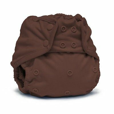 Rumparooz Cloth Baby Diaper Cover Root Beer Snap One Size Adjustable Unisex