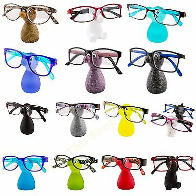 Spectacles / Glasses Holder Stand Snozzle Specs Reading Glasses Various Designs