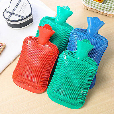 Hot Water Bottle Thick High Density Rubber Hot Water Bag Hand Warming Winter