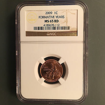 2009 1C Formative Years RD Lincoln Cent NGC MS-65 [Auto Comb Ship](26325)