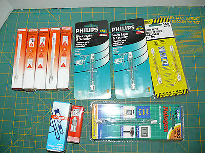 MIXED LOT OF 11  Electric Halogen Bulbs lamps lights