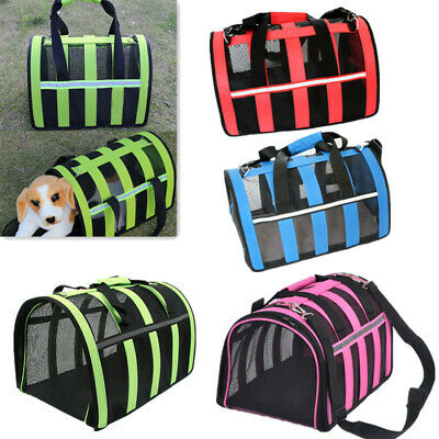 Pet Carrier Soft Sided Small Cat / Dog Comfort Travel Bag Airline Approved S M L