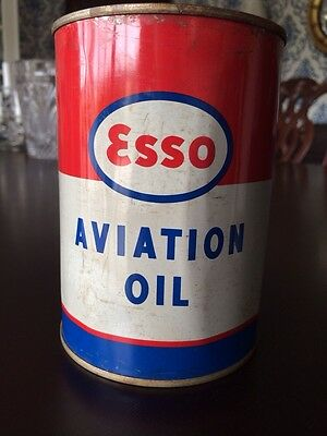 ESSO Aviation Oil (Humble Oil and Refining Company)