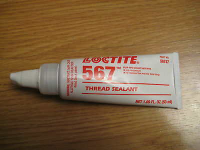 New Factory Sealed Loctite 567 Thread Sealant Exp. Date 02/18, Msrp 40 $$$