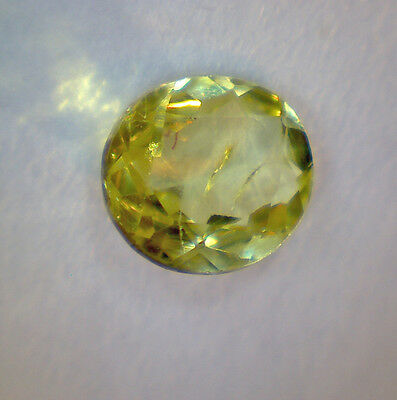 natural CHRYSOBERYL faceted oval 4,8 x 4,1 mm 0,36 cts - Saphirboutique