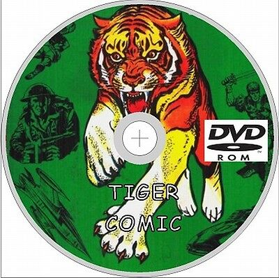 Tiger Comics On Dvd 250+ Collection & Annuals+Specials,uk
