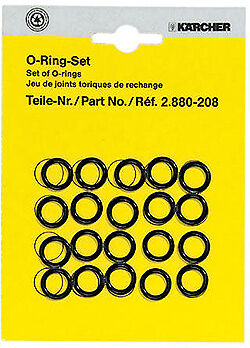 2.880-208.0 Karcher Karcher Hose / Nozzle Replacement O-Rings 20