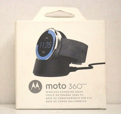 Genuine Motorola Moto 360 Wireless Charging Dock for Moto 360 Smart Watch