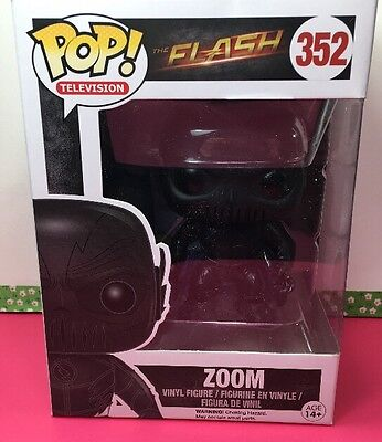 Funko Pop! Television Zoom The Flash TV Show Vinyl Figure 352