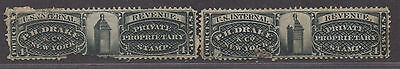 **US Match & Medicine Revenue Stamps, SC# Rs83a & Rs83b, CV $145.00