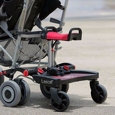 ONE TIME OFFER Lascal buggy board with a folding seat