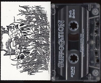 Suffocation (Suffercation) - Nightmare In Red, 1990 (Mal), Tape