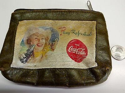 vintage coca cola womans purse