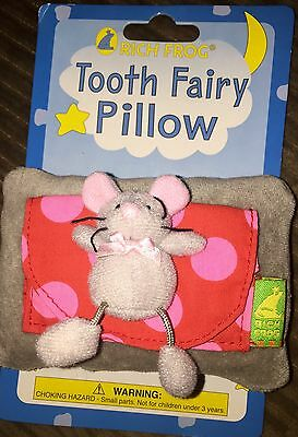 Rich Frog Miniature Tooth Fairy Pillow 2003 NEW - Mouse