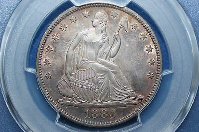 1883 Seated Liberty Half Dollar ~ Total Mintage 8,000 Coins Rare!!!