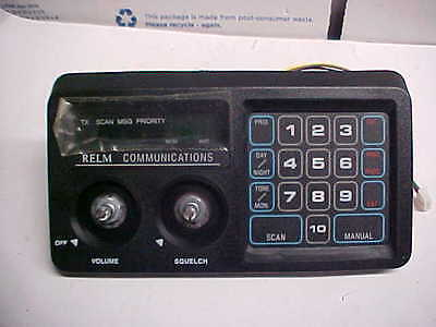 FINAL LIST new relm uhf vhf communications replacement display front loc#14c80