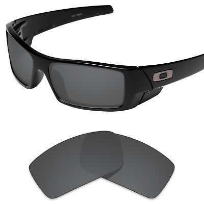 Tintart Polarized Replacement Lens for-Oakley Gascan Sunglass Carbon Black (STD)