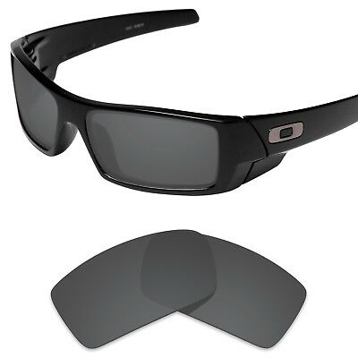 Tintart Polarized Replacement Lenses for-Oakley Gascan Carbon Black (STD)