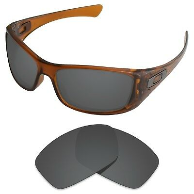 Tintart Polarized Replacement Lenses for-Oakley Hijinx Carbon Black (STD)