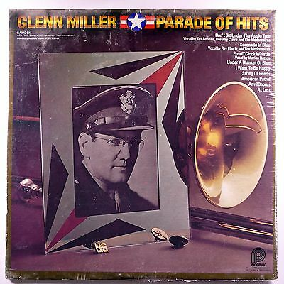"GLENN MILLER Parade Hits SEALED! ORIG 12"" 33RPM LP Greatest Best of"