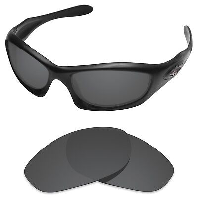 Tintart Polarized Replacement Lenses for-Oakley Monster Dog Carbon Black (STD)