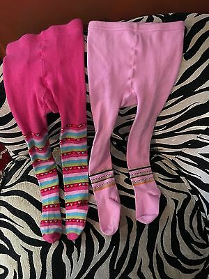 Toddler Little Girls Warm Stockings Size 2-4